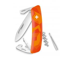 Couteau suisse SWIZA C03 LUCEO Orange urban -11 fonctions